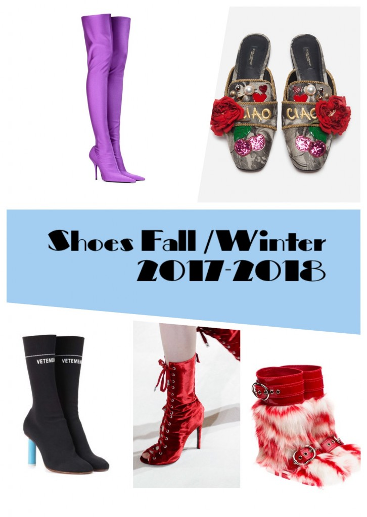 Scarpe autunno inverno 2018 19 Fall Winter Shoe Trends