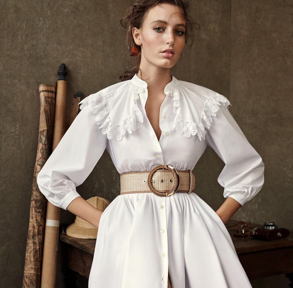 luisa spagnoli camicia bianca